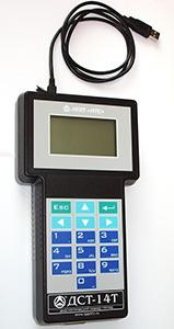 Автомобильный диагностический сканер тестер ДСТ-14Т подключение к компьютеру по USB