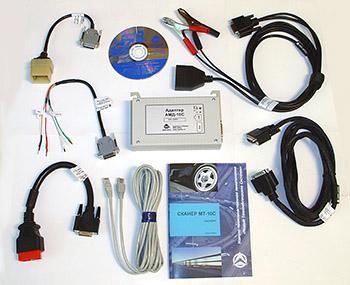 Автомобильный компьютерный Сканер МТ10С